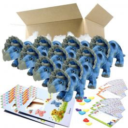 "Tricky The Triceratops 16"" Party Pack"