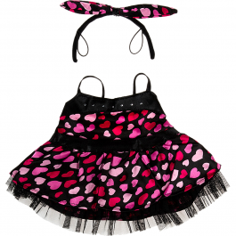 """Sweetheart Dress 16"""" Outfit"""