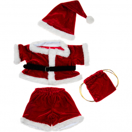 """Santa Costume 16"""" Outfit"""