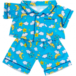 """Blue Flannel PJ's 16"""" Outfit"""