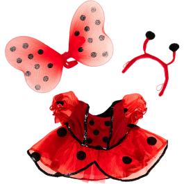 "Fairy Ladybug Costume 16"" Outfit"