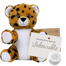 """Cheetah 8"""" Message Bear"""