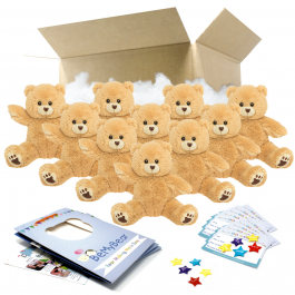 """Scruffy Bear 16"""" Party Pack"""