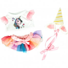 """Unicorn 8"""" Outfit"""