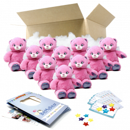 """Angel Bear 16"""" Party Pack"""