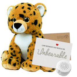 """Cheetah 16"""" Message Bear"""