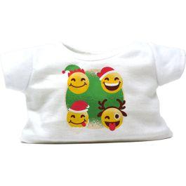 """Festive Emoji 8"""" Christmas T-Shirt"""