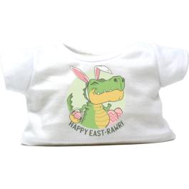 """Happy East-Rawr 16"""" Easter T-Shirt"""