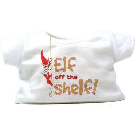 """Elf Off The Shelf 8"""" Christmas T-Shirt"""