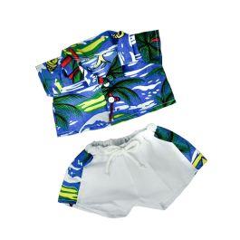 """Hawaiian Shirt & Shorts 16"""" Outfit"""