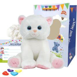 "Marshmallow Cat 16"" Animal Kit"