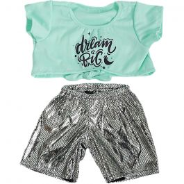 """Knotted T-shirt and Leggings 16"""" Outfit"""