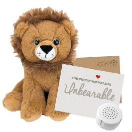 "Leo The Lion 8"" Message Bear"