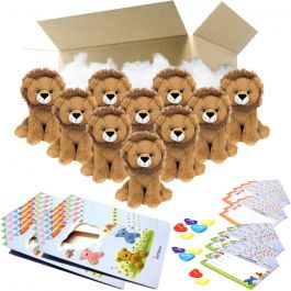 """Leo The Lion 8"""" Party Pack"""