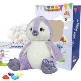 "Purple Penguin 16"" Animal Kit"