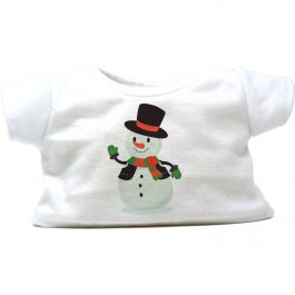 """Frosty the Snowman 8"""" Christmas T-Shirt"""