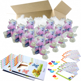 """Stardust Unicorn 8"""" Party Pack"""
