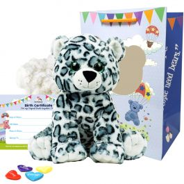"Storm Snow Leopard 16"" Animal Kit"