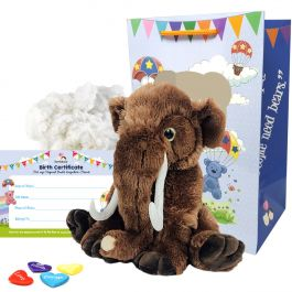 """Wollie The Woolly Mammoth 16"""" Animal Kit"""