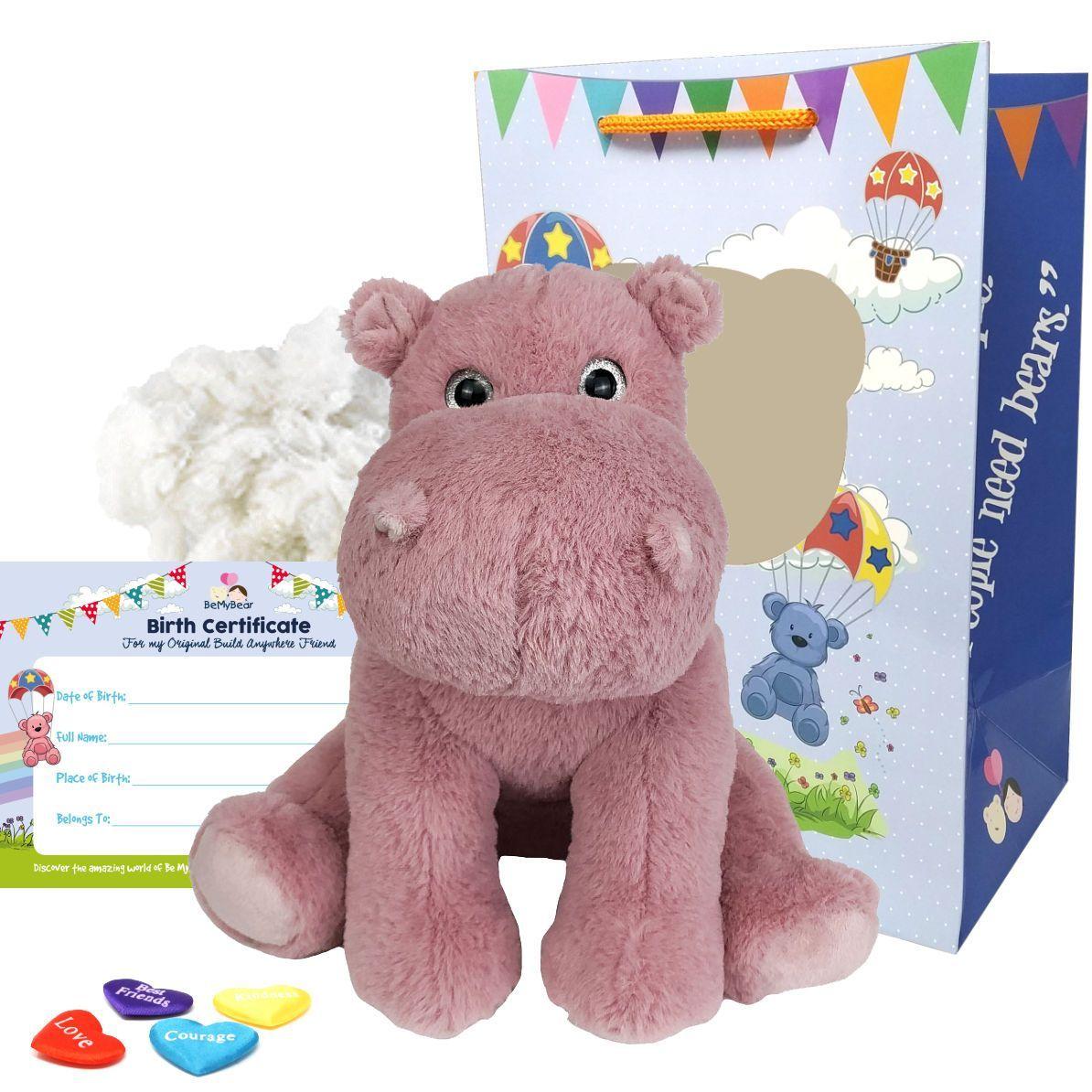 "Henley the Hippo 16"" Animal Kit"