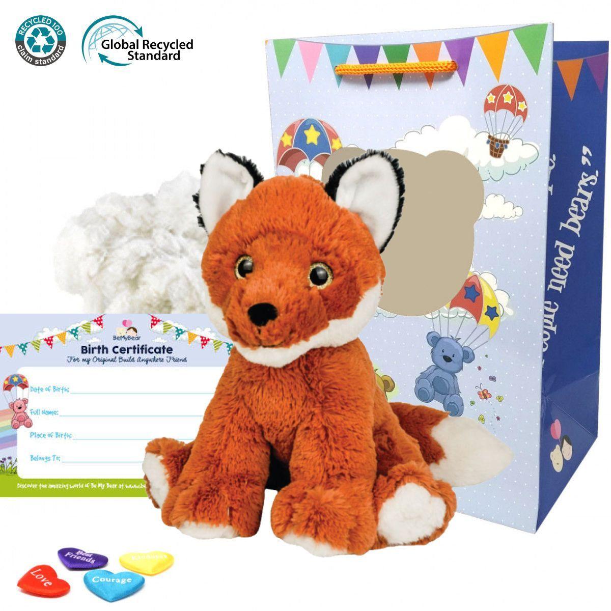 """Finn The Fox 16"""" Eco Animal Kit"""