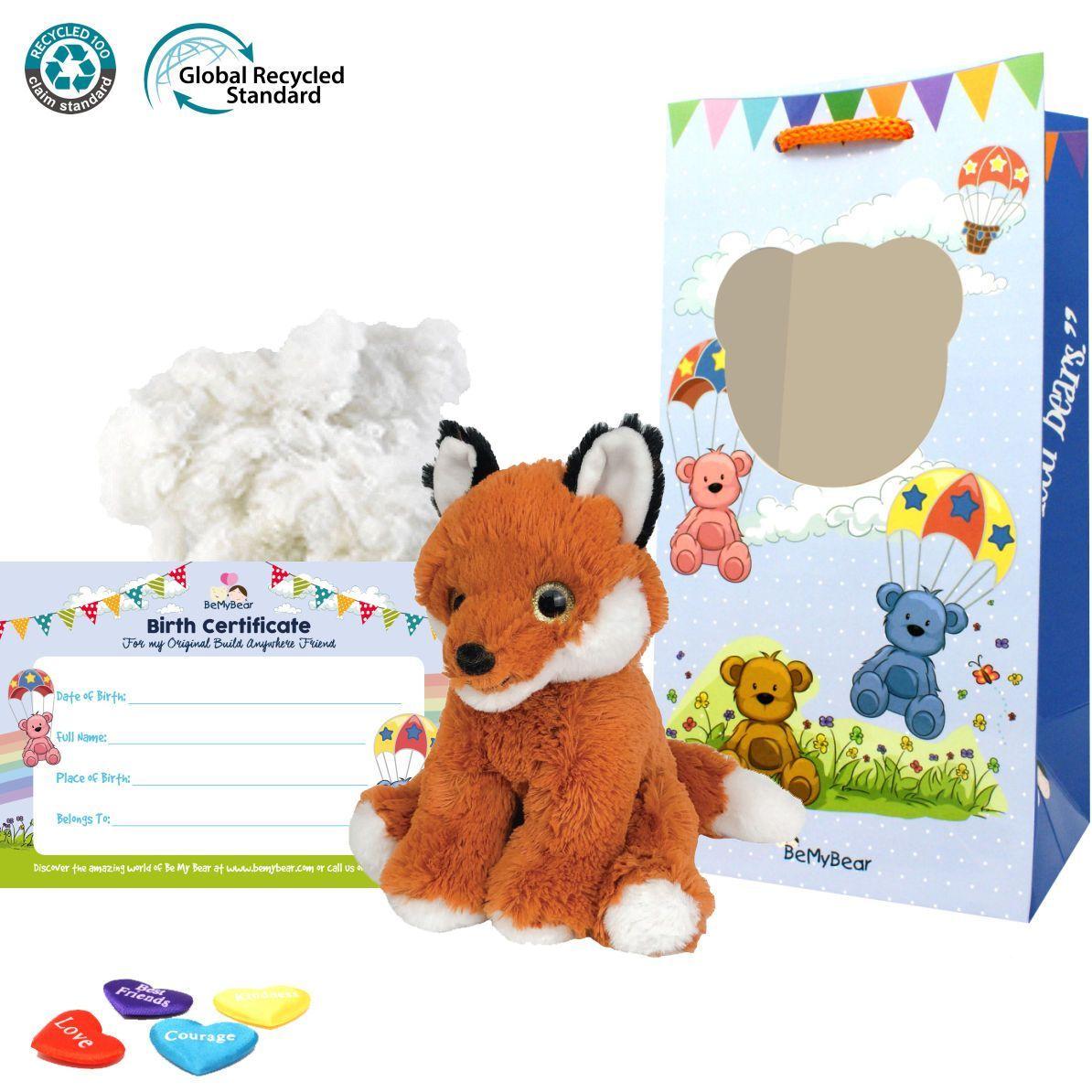 """Finn The Fox Eco 8"""" Animal Kit"""