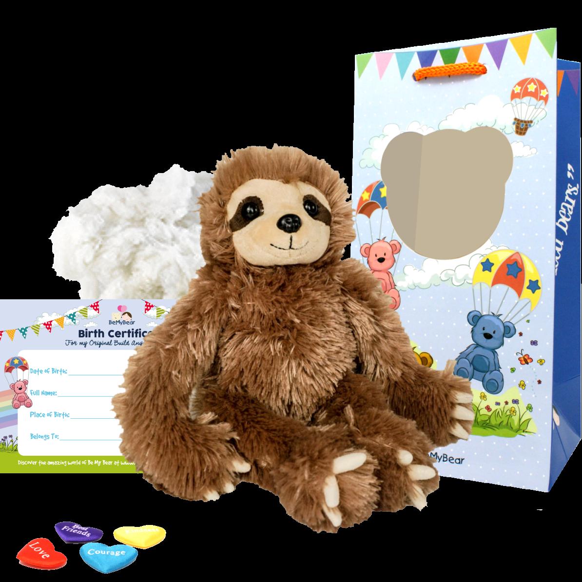 "Slumber the Sloth 8"" Animal Kit"