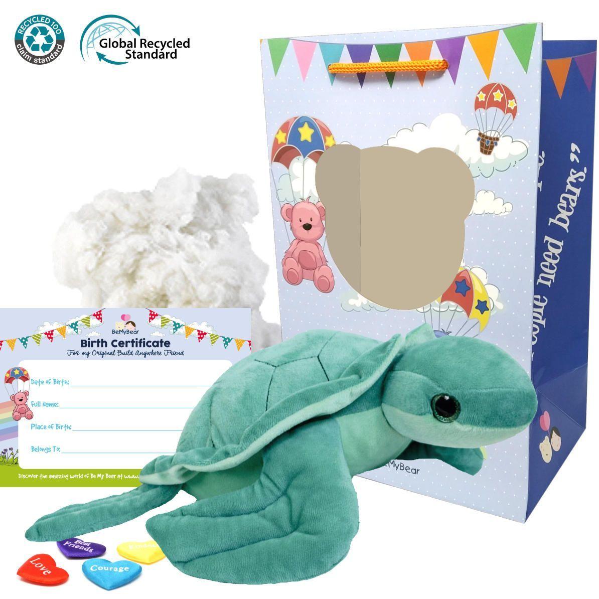 """Seaweed Sea Turtle Eco 16"""" Animal Kit"""