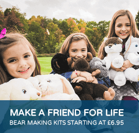 Make a friend for life - Bear making kits starting at £6.95