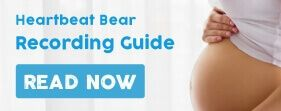 How to record your baby's heartbeat on a heartbeat bear recorder from Be My Bear