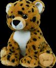 Pre-stuffed Character Heartbeat Bears