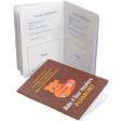 Take your teddy bear everywhere with our passport